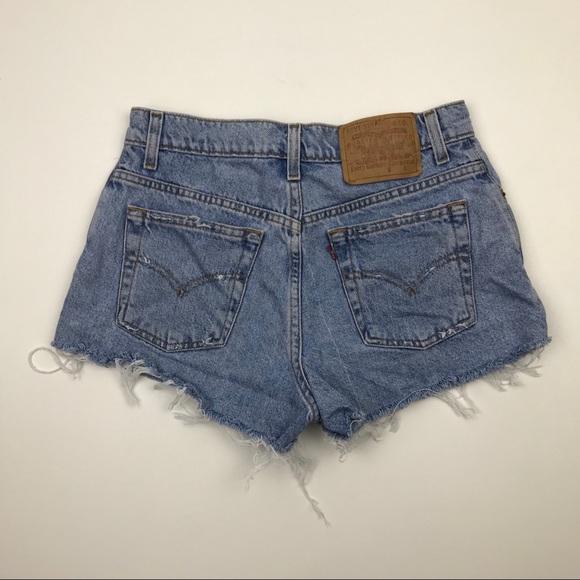 Levi's Pants - Vintage LEVI'S Jean Shorts Wedgie Fit Jeans Sz 27